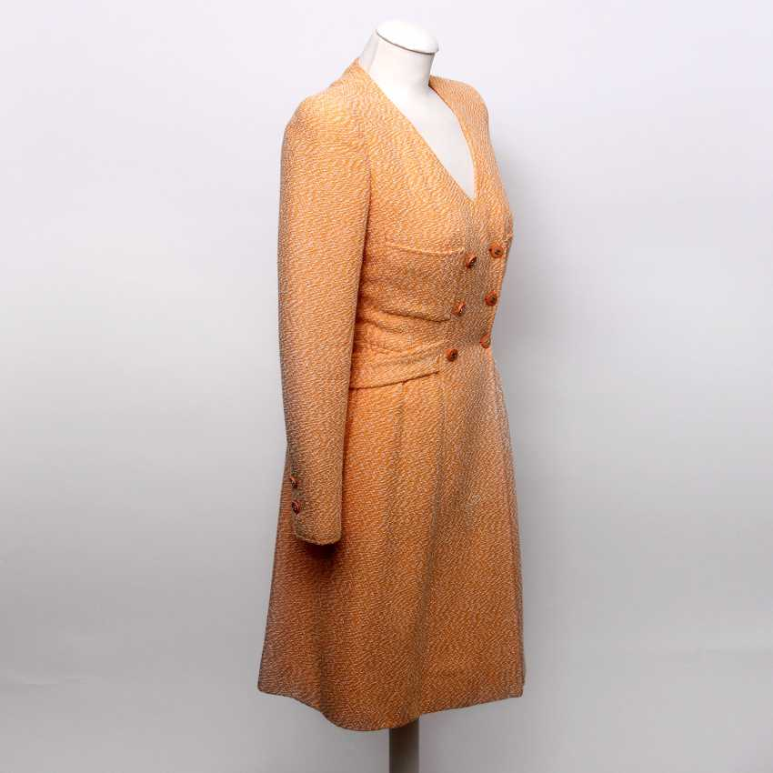 """CHANEL VINTAGE charming sheath dress, collection """"SCHIFFER"""", Size 36; - photo 2"""