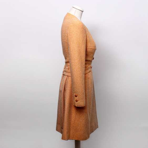 """CHANEL VINTAGE charming sheath dress, collection """"SCHIFFER"""", Size 36; - photo 3"""