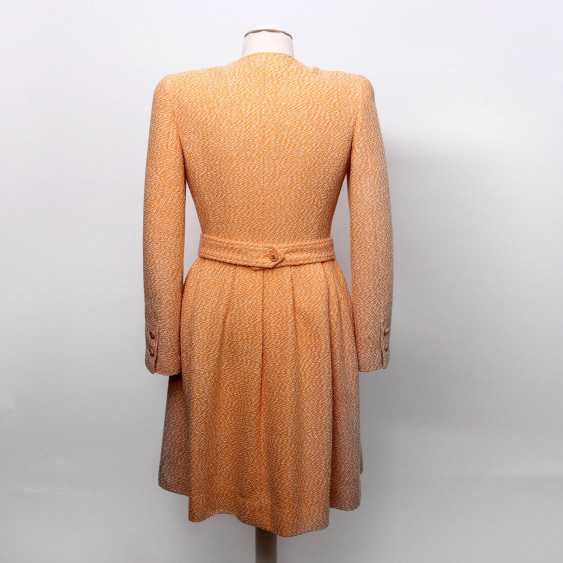 """CHANEL VINTAGE charming sheath dress, collection """"SCHIFFER"""", Size 36; - photo 4"""