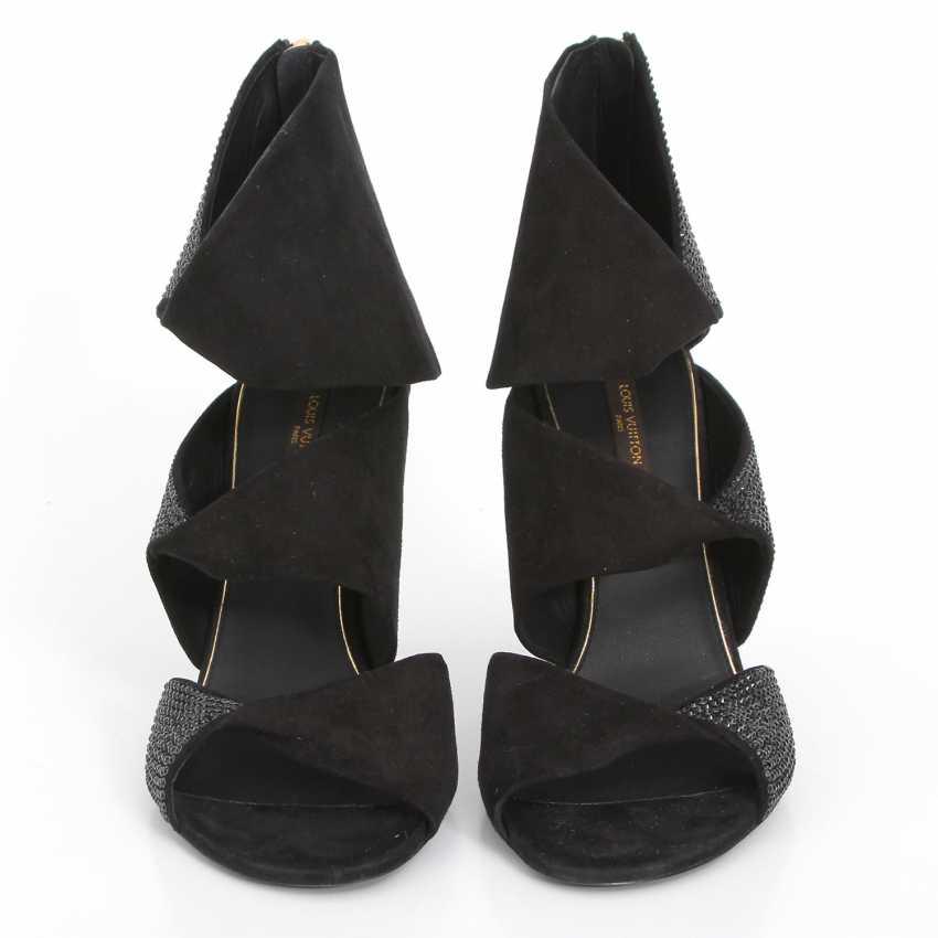 LOUIS VUITTON extravagant sandals, Evening, open toe, Size 39. - photo 1