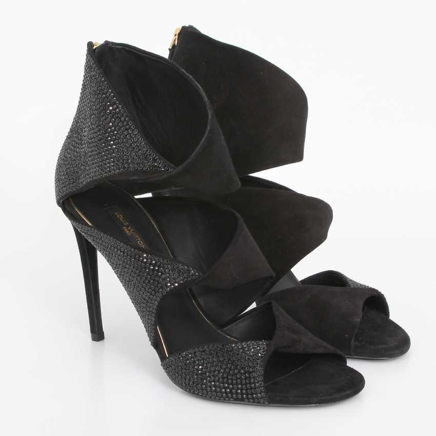 LOUIS VUITTON extravagant sandals, Evening, open toe, Size 39. - photo 2