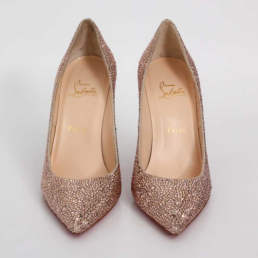 LOUBOUTIN glamorous heels, Sz.39. - photo 1