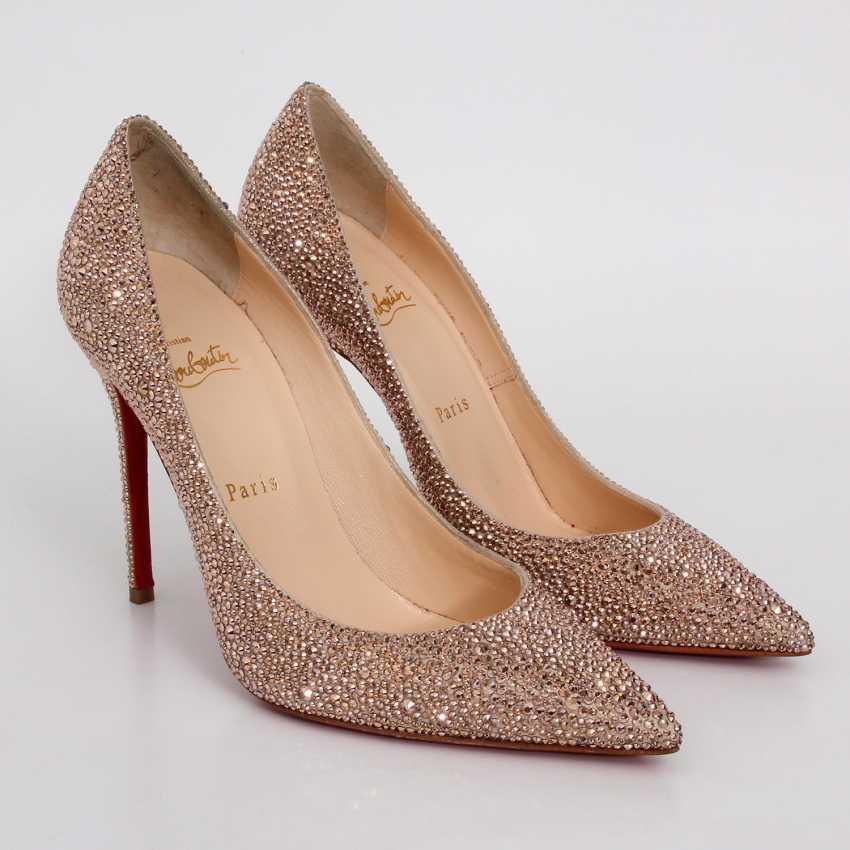 LOUBOUTIN glamorous heels, Sz.39. - photo 2