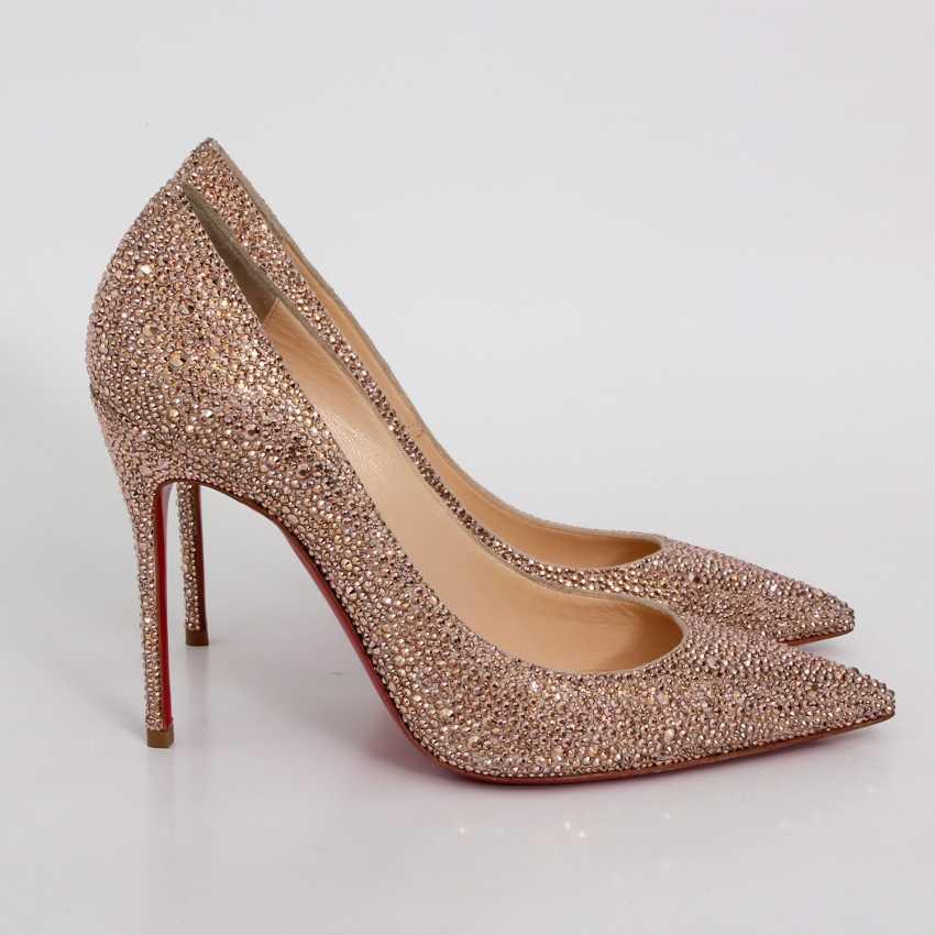 LOUBOUTIN glamorous heels, Sz.39. - photo 3