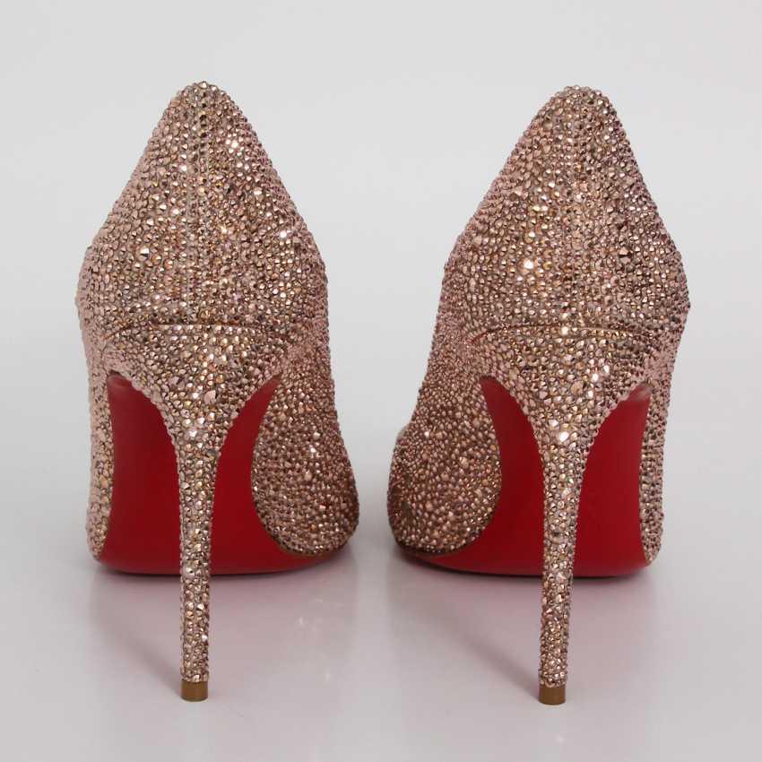 LOUBOUTIN glamorous heels, Sz.39. - photo 4