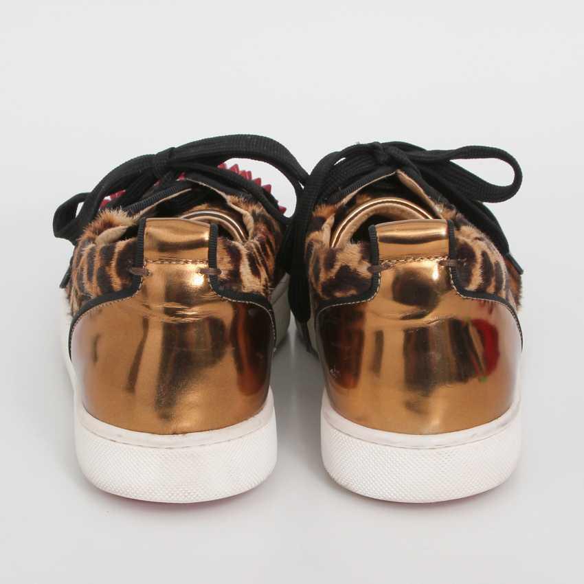 CHRISTIAN LOUBOUTIN exclusive Sneaker, size 39. - photo 4