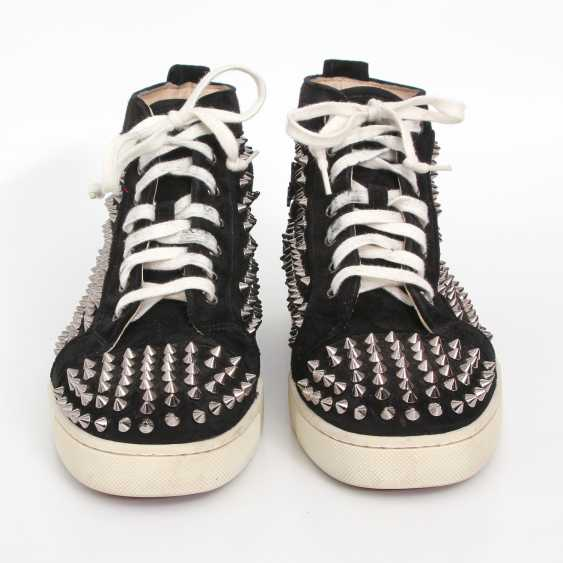 CHRISTIAN LOUBOUTIN exquisite sneakers, size 40. - photo 1