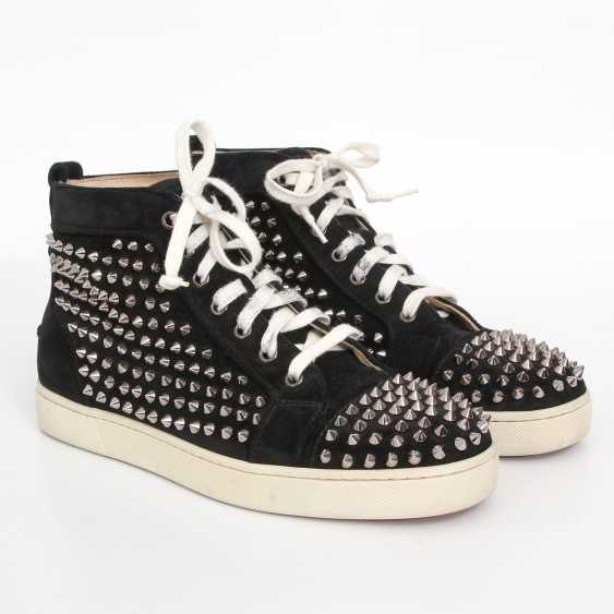 CHRISTIAN LOUBOUTIN exquisite sneakers, size 40. - photo 2