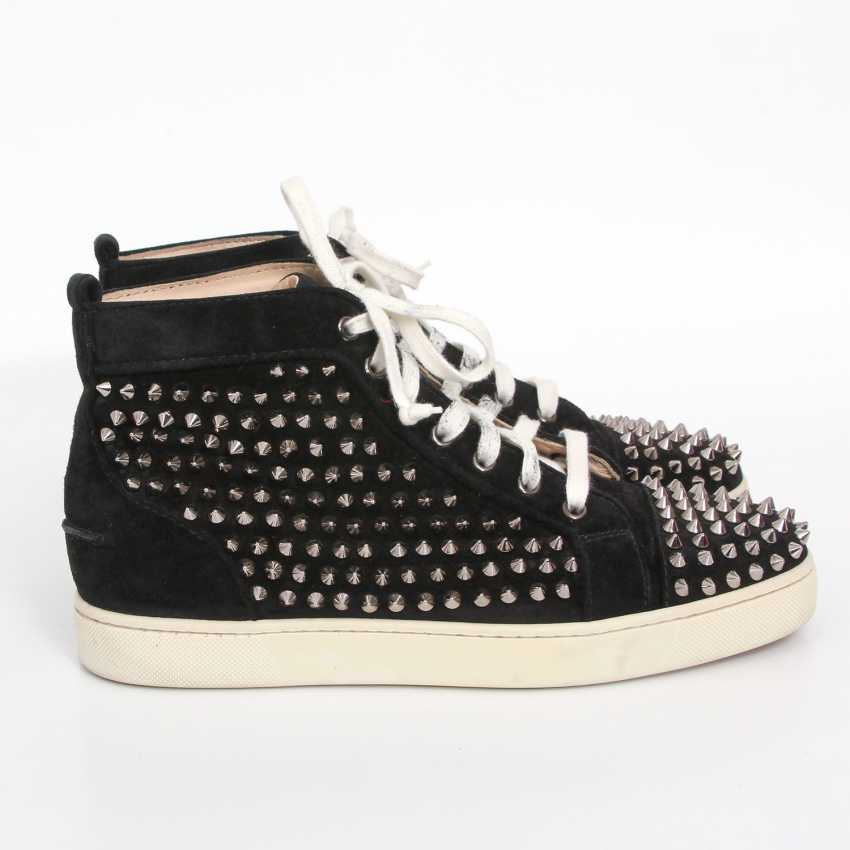 CHRISTIAN LOUBOUTIN exquisite sneakers, size 40. - photo 3