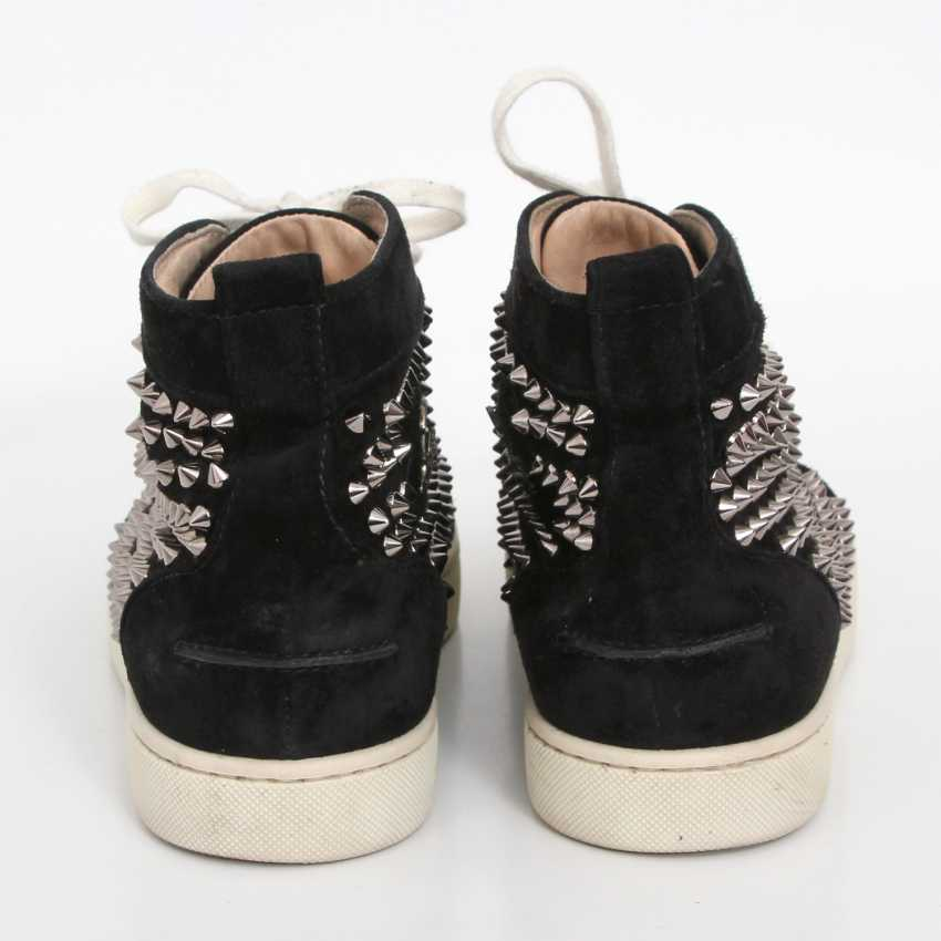 CHRISTIAN LOUBOUTIN exquisite sneakers, size 40. - photo 4