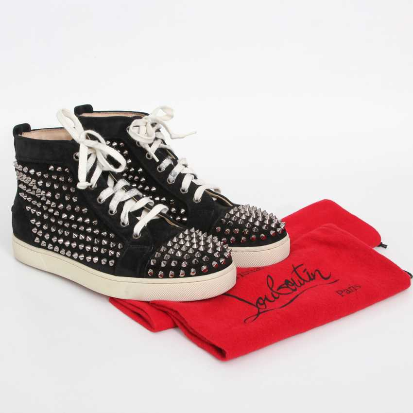 CHRISTIAN LOUBOUTIN exquisite sneakers, size 40. - photo 5
