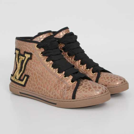 LOUIS VUITTON's noble Sneaker, size 39. - photo 2