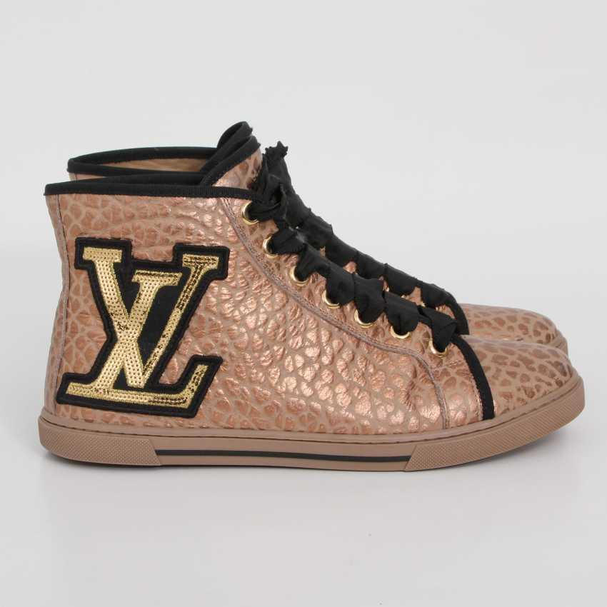 LOUIS VUITTON's noble Sneaker, size 39. - photo 3