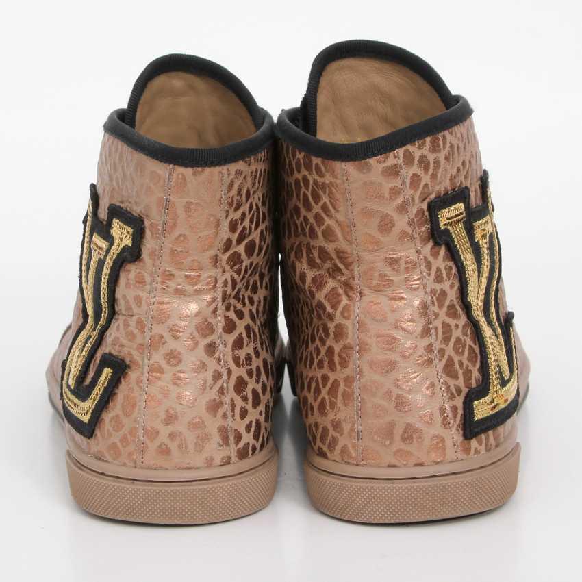 LOUIS VUITTON's noble Sneaker, size 39. - photo 4