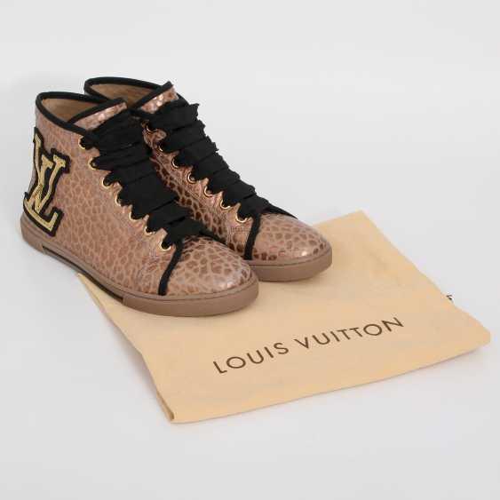 LOUIS VUITTON's noble Sneaker, size 39. - photo 5
