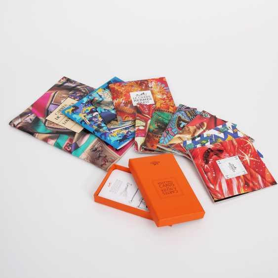 "HERMÈS Konvolut ""KNOTTING CARDS"". - photo 1"