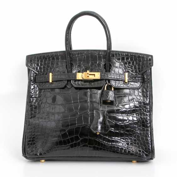 "HERMÈS exquisite handbag ""BIRKIN BAG 25"", collection 2005. - photo 1"