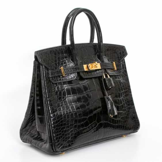 "HERMÈS exquisite handbag ""BIRKIN BAG 25"", collection 2005. - photo 2"