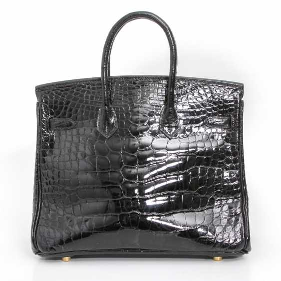 "HERMÈS exquisite handbag ""BIRKIN BAG 25"", collection 2005. - photo 4"