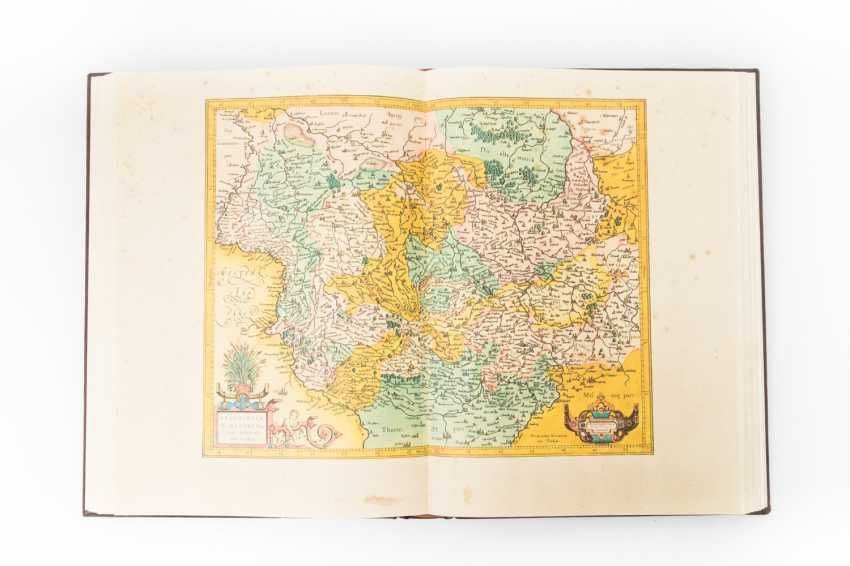"Mercator Weltatlas, 16. Jahrhundert, FAKSIMILE - Gerhard Mercator,""Atlas sive cosmographicae meditationes de fabrica mundi et fabricati figura"", - photo 1"