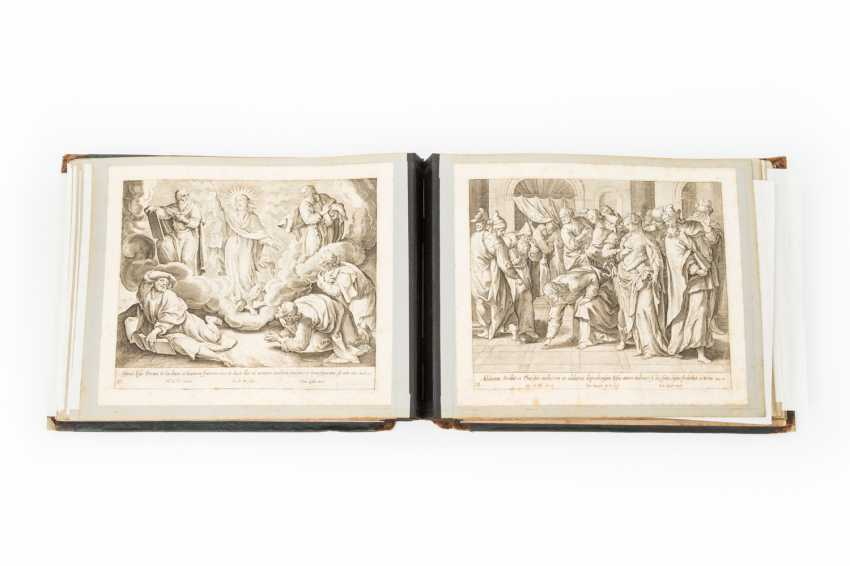 Album with engravings from the life and Ministry of Jesus Christ, - photo 1