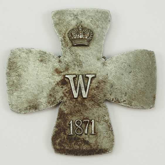 Prussia: Iron Cross, 1871, The Grand Cross Of The Core Blank. - photo 1