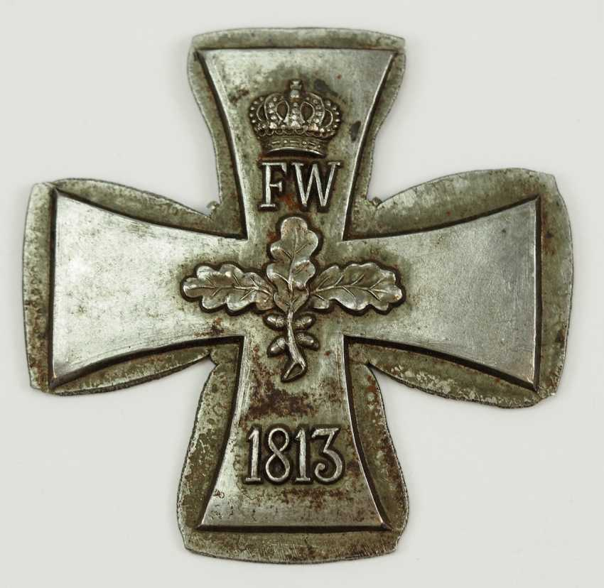 Prussia: Iron Cross, 1871, The Grand Cross Of The Core Blank. - photo 2
