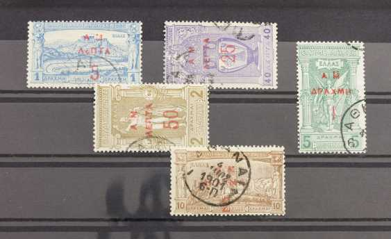 Greece - clean stamped set of MNr. 118/22, - photo 1