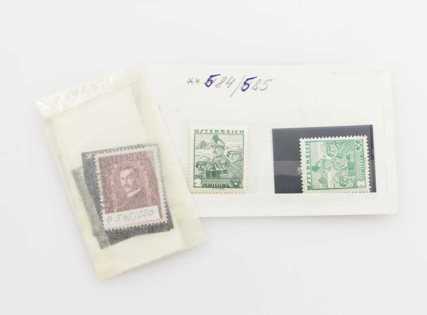 Austria - stamped set of MNr. 545/50, - photo 1