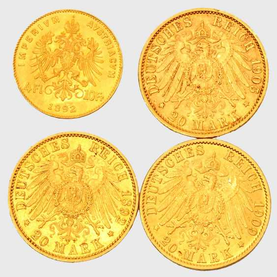 Imperial Gold from the lot of Prussia and Austria - consisting of - photo 1