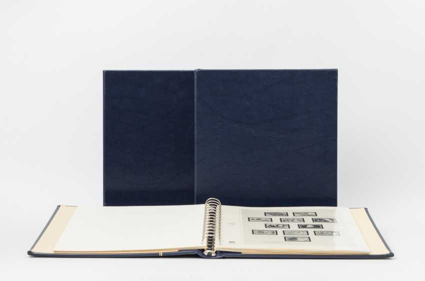 BRD - stamped collection in 3 Safe-albums, from 1949, - photo 1