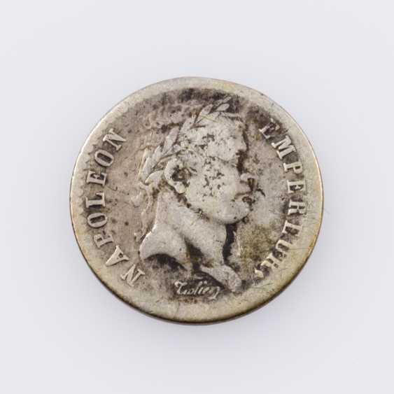 France, Napoleon 1/2 Franc 1811 W (Lille), - photo 1