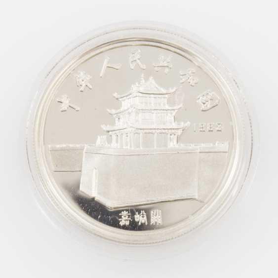China - 5 Yuan Silber 1983. Marco Polo, - photo 2