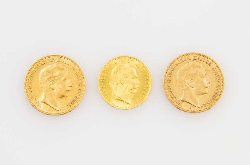 Beautiful gold Prussia and Austria from the group - consisting of - photo 1
