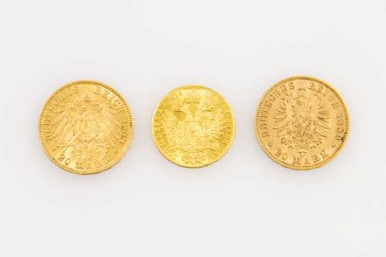 Beautiful gold Prussia and Austria from the group - consisting of - photo 2