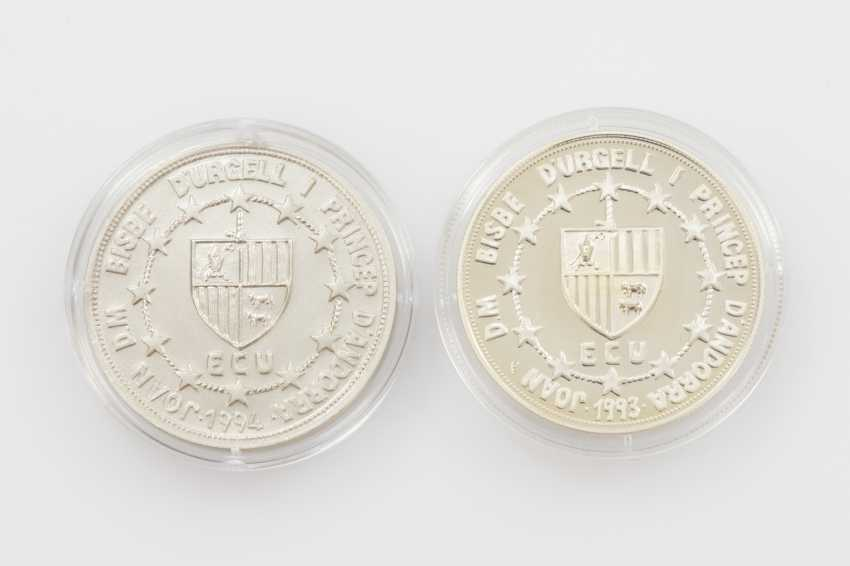 Andorra - 20 Diners mit Gold-Inlay, - photo 2