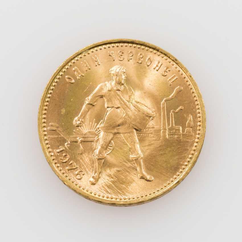 Russland / GOLD - 10 Rubel 1976, - photo 1
