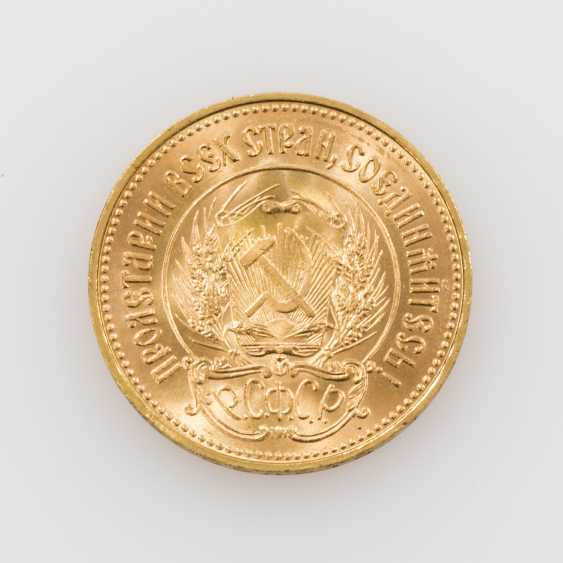 Russland / GOLD - 10 Rubel 1976, - photo 2