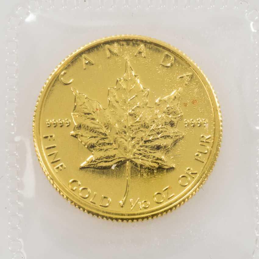 Canada/GOLD - 5 dollars 1987, - photo 2
