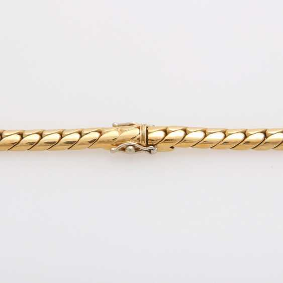 Collier in the Central part set with a diamond - photo 7