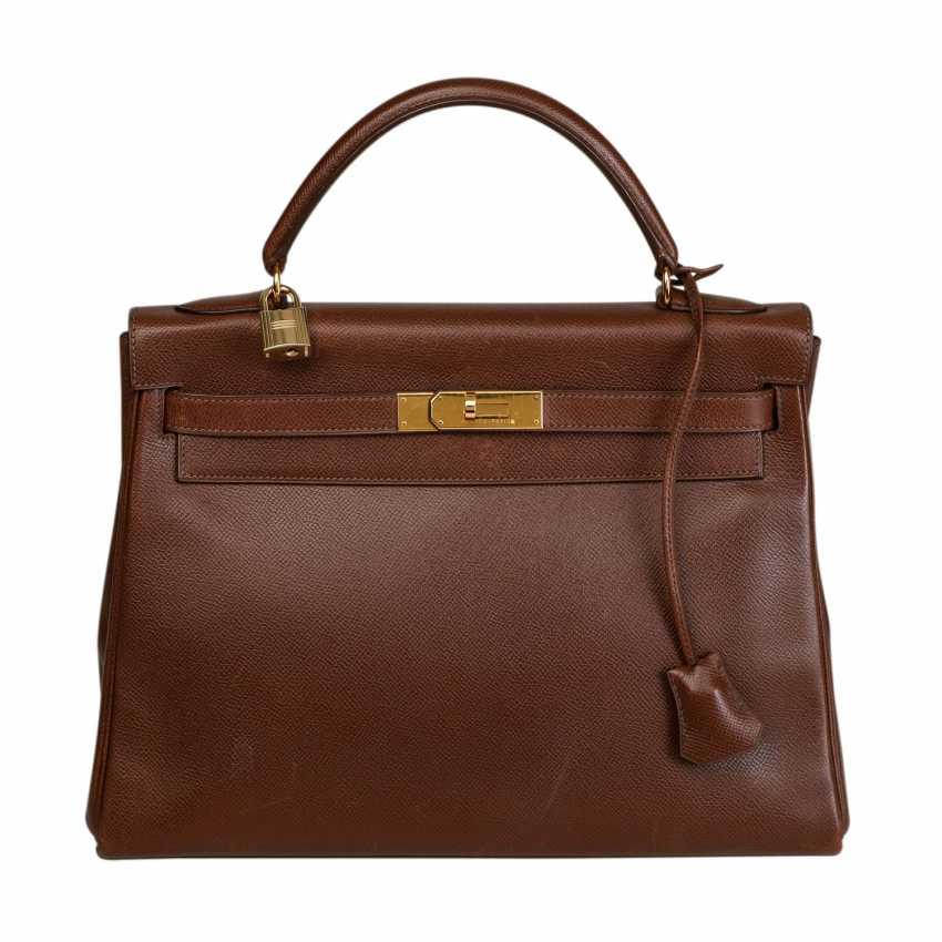 """HERMÈS VINTAGE Handtasche """"KELLY BAG 32"""", Kollektion 1998. - Foto 1"""