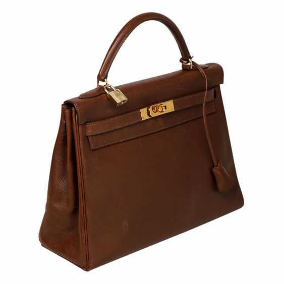 """HERMÈS VINTAGE Handtasche """"KELLY BAG 32"""", Kollektion 1998. - Foto 2"""