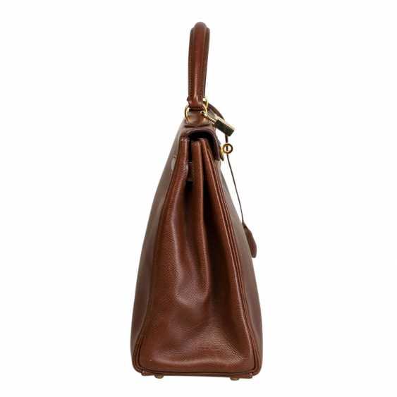 """HERMÈS VINTAGE Handtasche """"KELLY BAG 32"""", Kollektion 1998. - Foto 3"""