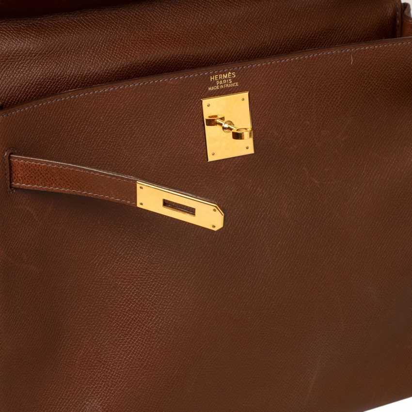 """HERMÈS VINTAGE Handtasche """"KELLY BAG 32"""", Kollektion 1998. - Foto 6"""