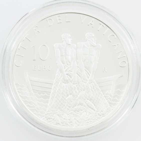 Vatican 10 Euro In 2011, - photo 2