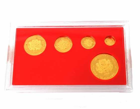Singapore - Lion Gold Coin Set 1991, - photo 3