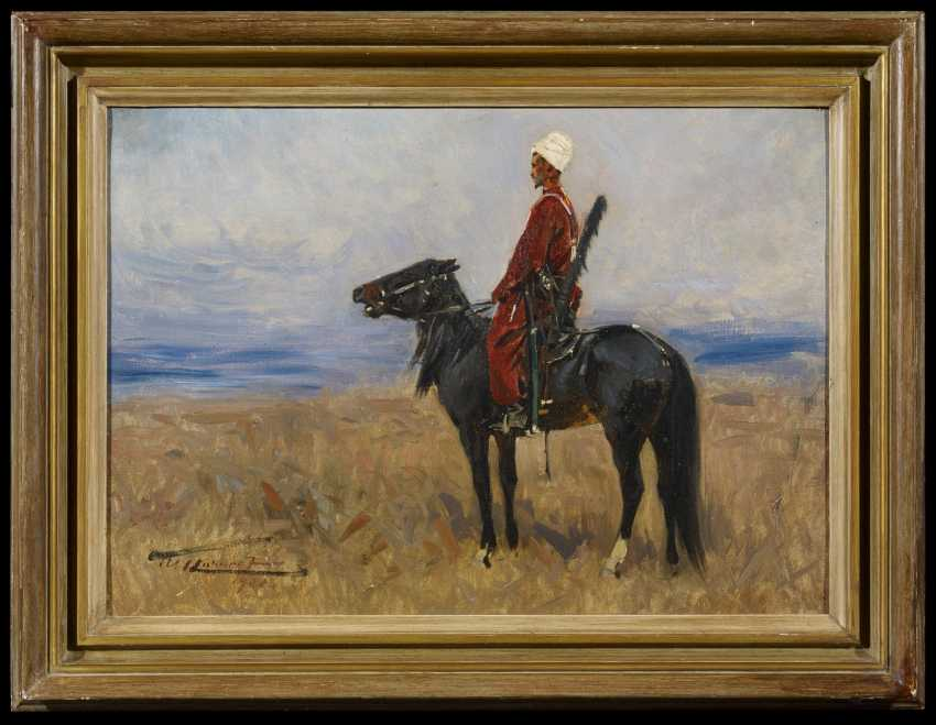 Circassian horseman in the Steppe - photo 1