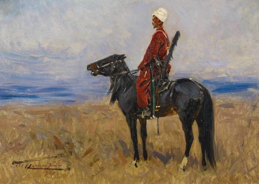 Circassian horseman in the Steppe - photo 2