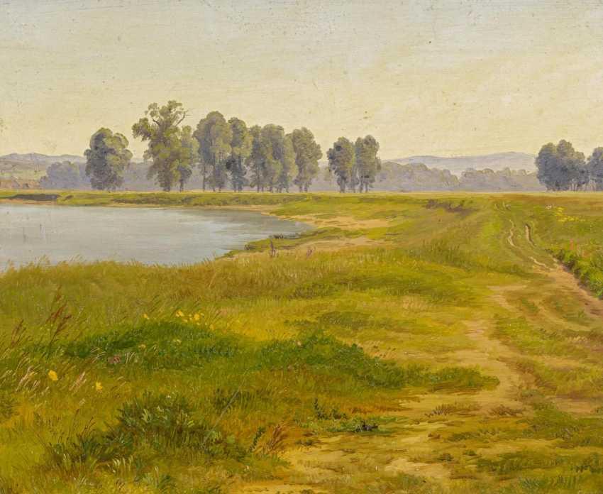 Landscape study of a lake - photo 1