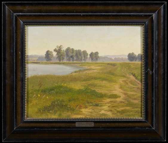 Landscape study of a lake - photo 2